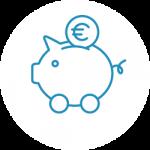 Flotta megtakarítás ikon