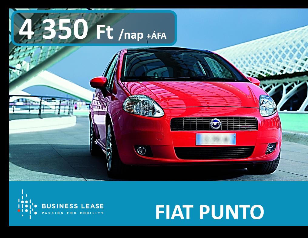 autó bérlés Fiat Punto