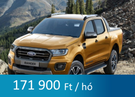 Ford Ranger tartós bérlet