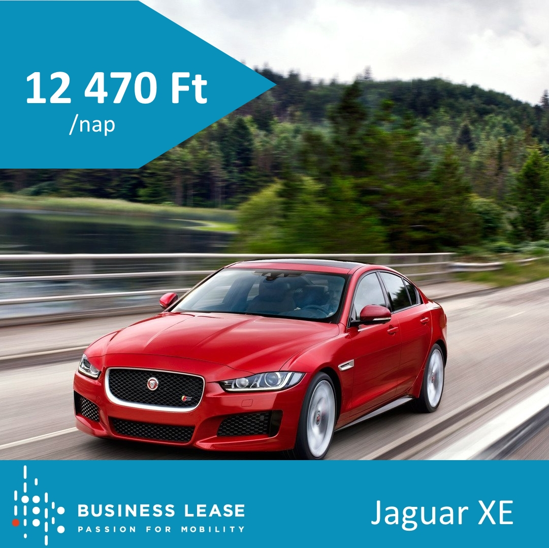 rövidtávú autóbérlés Jaguar XE