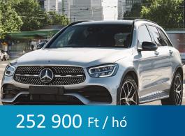 Mercedes GLC tartós bérlet
