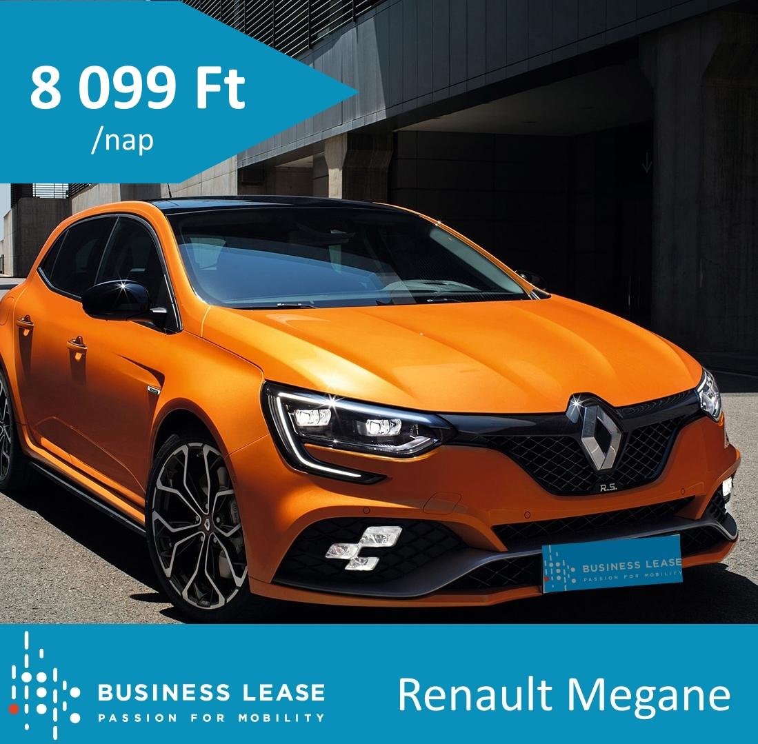 rövidtávú autóbérlés Renault Megane
